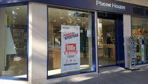 Demo Store Phone House tarifa convergente móvil+fijo+ADSL/Fibra reparaciones outlet remóvil seguros para móvil smartphones tabletas wearables accesorios
