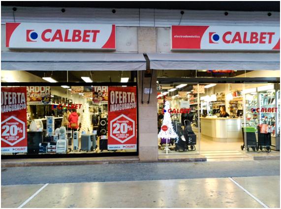 tienda Calbet, Calbet Electrodomésticos, venta de electrodoméstuicos, Vilanova i la Geltrú, Joan Carles Calbet