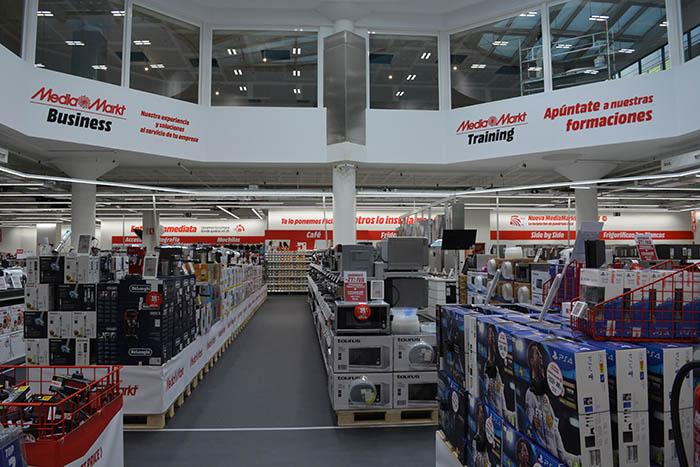 MediaMarkt Vallecas, tienda MediaMarkt, tecnología, lavadora, frigorífico, comprar electrodoméstico, Madrid