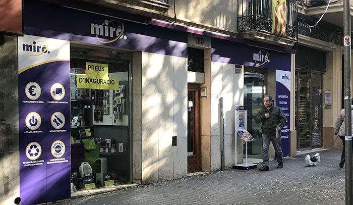 Matteo Buzzi, Miró Electrodomésticos, tienda Miró, electrodomésticos, cadena de electrodoméstico, Sant Andreu, Barcelona, comprar lavadora