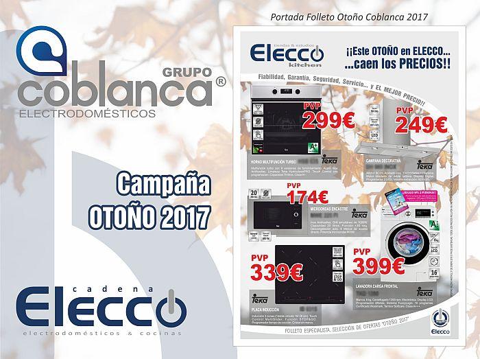 Coblanca Group Doméstico S.L Elecco-Kitchen Deccokitchen Campaña de Otono de Coblanca Ofertas Selección herramientas de marketing