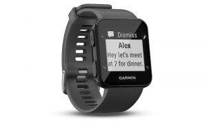 reloj deportivo Garmin Forerunner 30 Garmin Elevate VO2 Max GPS y acelerómetro Move IQ LiveTrack Garmin Connect Connect Mobile Garmin
