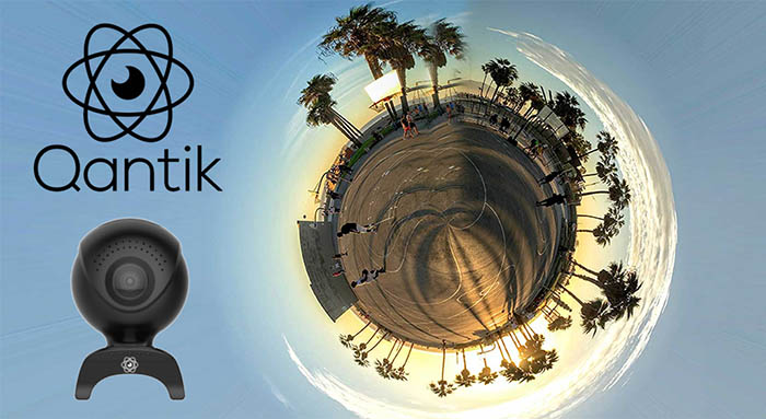 Qantik, Ingram Micro, action cam, cámara 360, mayorista, acuerdo de distribución, Hexino