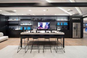 Samsung Store Callao, tienda Samsung, El Corte Inglés, electrodomésticos, televisores, móviles, Madrid, Plaza de Callao, comprar tecnología, Internet