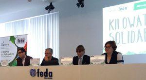 Kilowatios de Solidaridad Reciclo-P AGESAM Cáritas RAEEs FEDA Asociación de Gestores Ambientales de Albacete ERP España