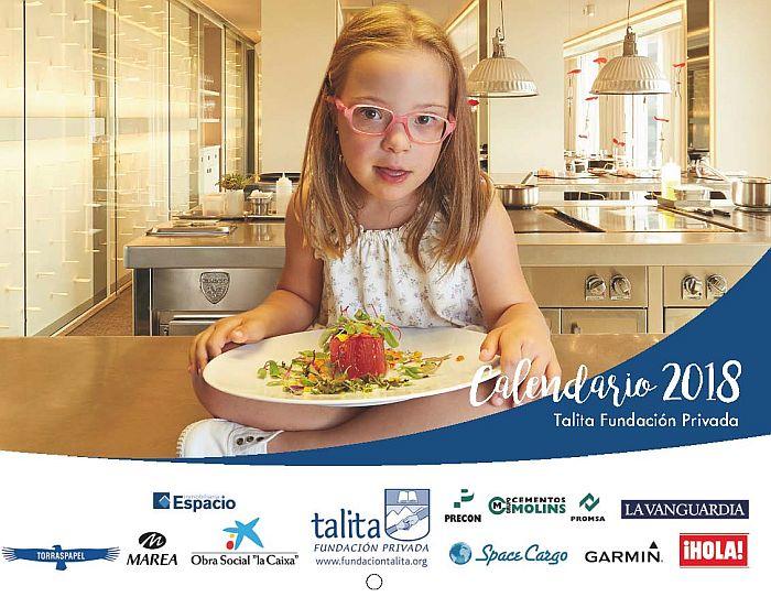 calendario Talita Fundación Talita Garmin Garmin Iberia RSC Manuel Carrasco India Martínez Álvaro Soler Verónica Forqué hermanos Torres Hugo Silva Terelu Campos