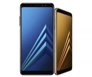 Pantalla Infinita certificación IP68 Samsung Galaxy A8(2018) Gear VR función Enfoque Dinámico función Always On Display doble SIM junto con una microSD cámara doble frontal