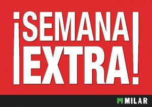 Milar Sinersis Semana Extra cuesta de enero financiación en 20 meses sin intereses