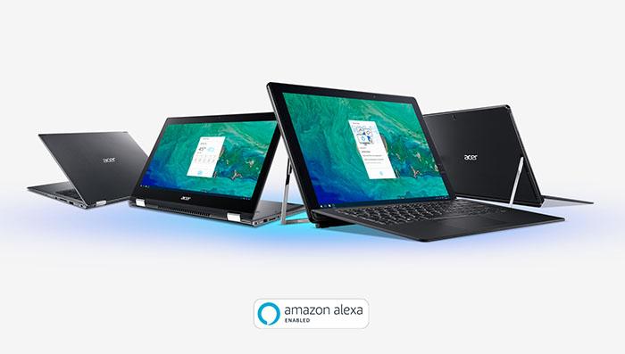 ordenadores acer, amazon alexa, portátiles, ordenador, allinone, CES, asistende de voz