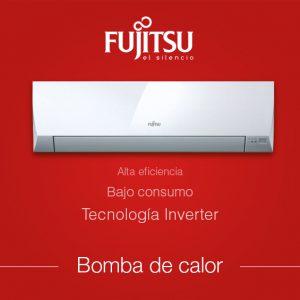 Fujitsu, split, bomba de calor, campaña invierno, eficiencia energética, silencio, rapidez, televisión