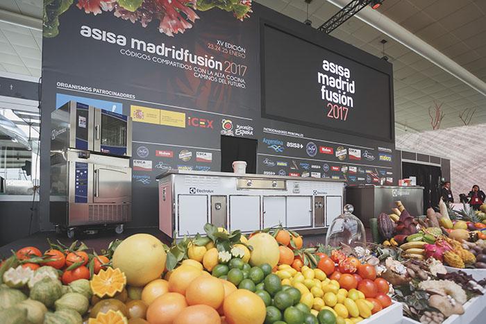 Madrid Fusión 2018, Madridfusión 2018, Electrolux, grupo electrolux, proveedor, chefs famosos, alta cocina, alta gastronomía, aprendiendo a cocinar, electrodomésticos, horno a vapor, abatidor
