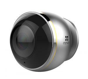 Cámara Mini Pano 360º, cámara ojo de pez, videovigilancia, ezviz, modos de visionado, visión nocturna, vigilancia, seguridad