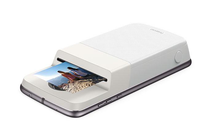 foto, smartphone, móvil, moto mod Polaroid Insta-share Printer, moto mod, motorola, serie z, smartphones, impresora móvil portátil, accesorio, smartphone, polaroid