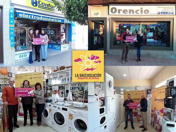 La RAEEVolución, Extremadura, electrodomésticos, tiendas de electrodomésticos, recogida de RAEEs, Extremadura, establecimiento raeevolucionario