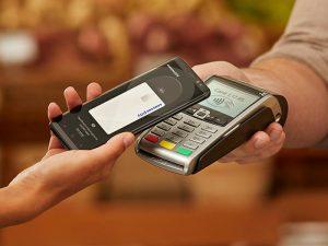 Samsung Pay, pago móvil, pago con el smartphone, tiendas, El Corte Inglés, tarjetas de fidelización, servicio de pago móvil, transacciones móviles, ipsos, celestino
