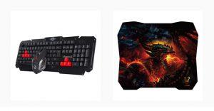 Woxter Stinger FX 95 W Kit, teclado, ratón, alfombrilla, periféricos, jugones, gaming, jugador, videojuego, woxter