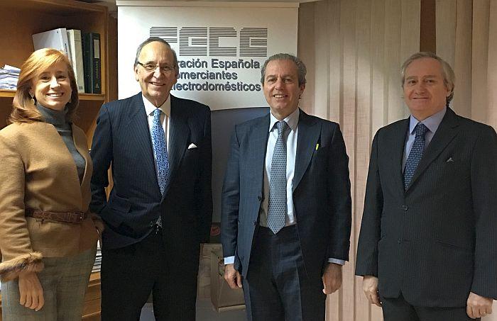 FECE canon digital Federación Española de Comerciantes de Electrodomésticos venta de equipos de aire acondicionado RAEE Dirección General de Política Comercial y Competitividad