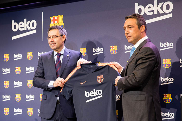 beko, Barça, patrocinio, training partner, club, futbol