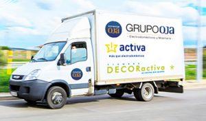 comercial oja, electrodomésticos, grupo activa, almacén por voz, activa hogar, pepe rioja