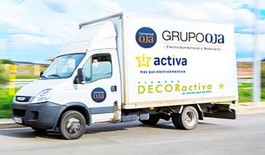 Comercial Oja (Grupo Activa) tendrá un almacen controlado por voz