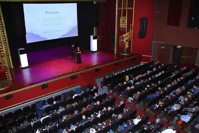 Daikin, Barcelona, teatro victoria, clientes, Cabaret, ACS, calderas, Altherma 3, r-32, calefacción