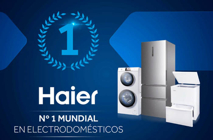 haier, fabricante chino, electrodomésticos, liderazgo, número uno mundial, lavadora, frigorífico, Euromonitor, Euromonitor Internacional