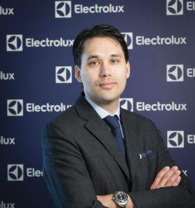 Alexander Pierrou, Director General de Electrolux Iberia, Electrolux, electrodomésticos, España