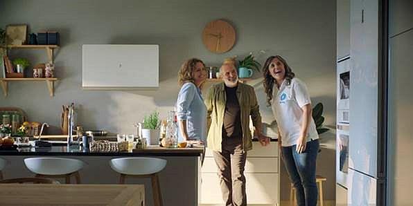 Balay frigoríficos serie Cristal campaña spots Balay