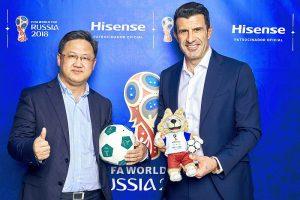 Hisense U9A ULED TV Hisense U7A ULED TV Mundial de fútbol UEFA Copa Mundial de la FIFA 2018 Luis Figo Hisense