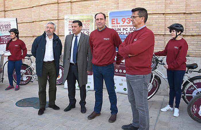 Recicla tus aparatos, en la Comunidad Valenciana