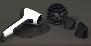 secador Air 3D ráfaga de aire frío rejilla de cerámica generador iónico Remington sistema de bloqueo por presión