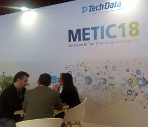 Tech Data METIC 2018 NH Collection Barcelona Tower Cloud IoT/Analytics Next Generation Advanced Solutions TD Academy buy back upselling Datech Maverick AV Global Computing Components Endpoint Solutions Avnet TS