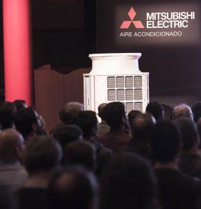 City Multi, Mitsubisho electric aire acondicionado, VRF, Bilbao, presentación, eficiencia, refrigeración