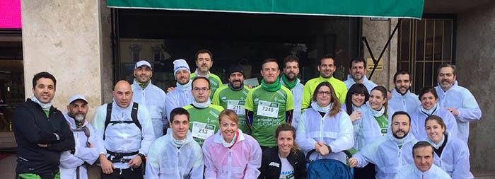 Daikin, aire acondicionado, vida sana, vida saludable, carrera contra el cáncer, empleados daikin, asociación española contra el cáncer, aire acondicionado, Madrid