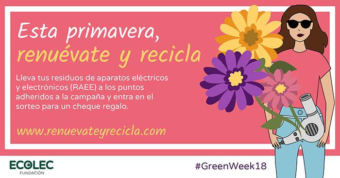 Ecolec celebra la #GreenWeek18