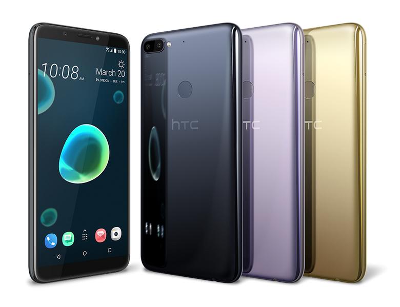 Smartphones HTC Desire 12 y HTC Desire 12+