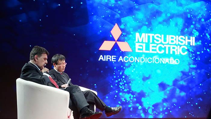 mitsubishi electric, aire acondicionado, Liceo, Barcelona, Pedro Ruiz