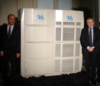 vrf, climatización, V6, Midea, refrigeración, calefacción, frío, Midea, frigicoll, instaladores, Barcelona