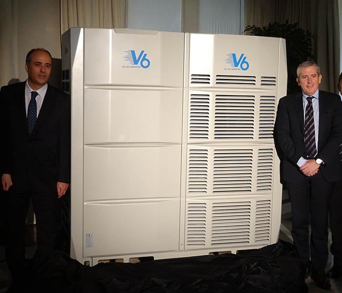 Frigicoll presenta Midea VRF V6