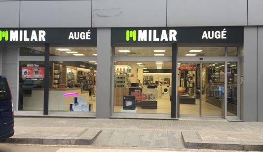 Milar Auge, tienda milar, tienda de electrodomésticos, milar electrodomésticos, sacse, cataluña, Milar, sinersis, molins de rei, comprar lavadora