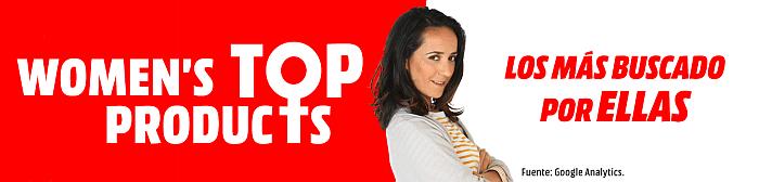 MediaMarkt, productos tecnológicos más demandados por mujeres, día internacional de la mujer, tiendas mediamarkt pequeño electrodomésticos, regalos