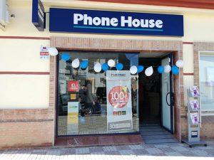 tienda phone house, tienda de telefonía, teléfono móvil, Phone House, comprar móvil, Málaga, Campillos