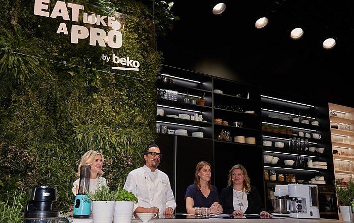 NeoFrost Dual Cooling Technology Arçelik Eat Like A Pro lavavajillas Beko AutoDosing FlameAdjust Split&Cook gama de productos de encastre Beko Alessandro Borghese