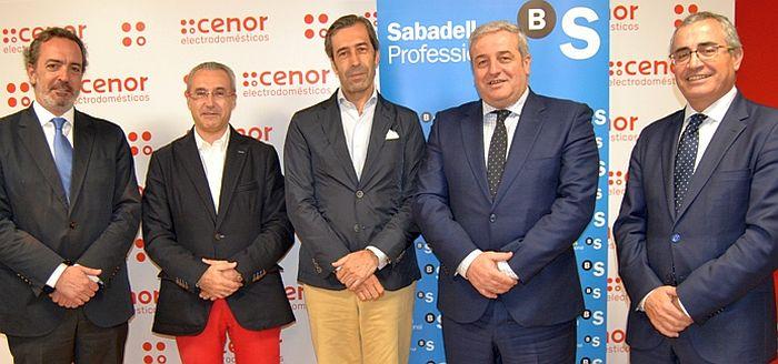 Cenor Electrodomésticos productos financieros para autónomos y comercios banco SabadellGallego