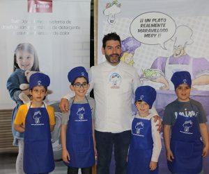 concurso Jóvenes Estrellas de la Cocina de Educachef La Terraza del Casino Miele Miele Experience Center de Alcobendas Paco Roncero