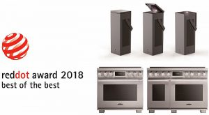 LG Signature Kitchen Suite Signature OLED TV CineBeam Laser 4K Signature Kitchen Suite Pro Range Red Dot Awards Best of the Best
