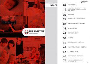 Eas Electric, Mercaluz, electrodomésticos, catálogo 2018, aire acondicionado, lavadora, lavavajillas, televisores, hornos, vitrocerámicas