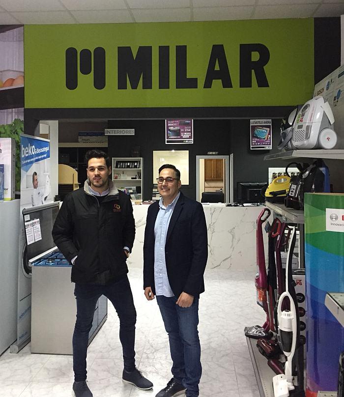 Galicia, A Coruña, tienda de electrodomésticos