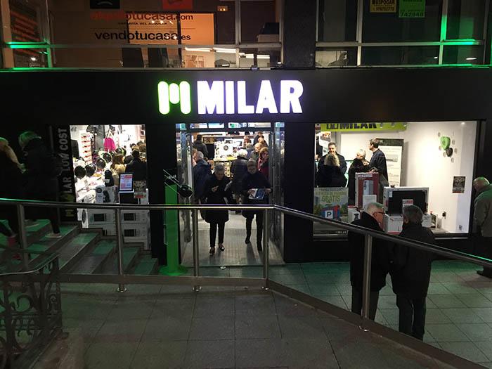 Nueva tienda Milar en Palencia