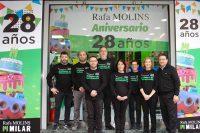 La tienda valenciana, referente en el sector de venta de electrónica y electrodomésticos, celebra su 28 aniversario con una serie de promociones y descuentos.